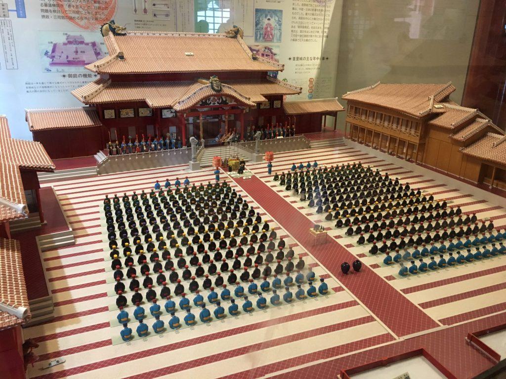 首里城模型