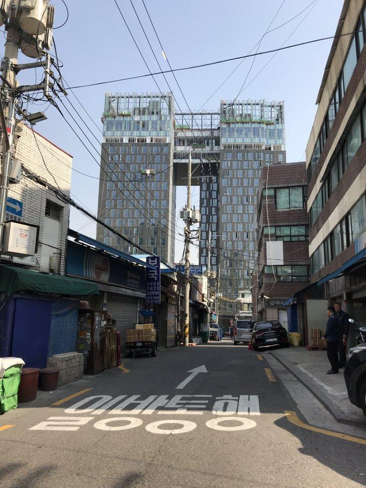 韓国スカイビル