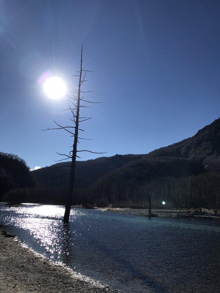 上高地大正池