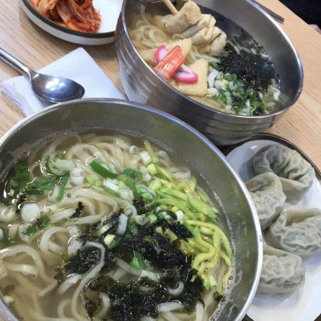 快晴のソウル☀️ 大阪には台風21号が直撃😱 帰国に暗雲が立ち込める中おいしいカルメギサル食べに行って来た!😆